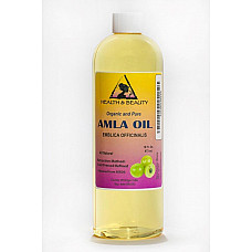 Amla / gooseberry seed oil refined organic cold pressed natural 100% pure 16 oz