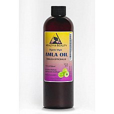 Amla / gooseberry seed oil unrefined organic virgin cold pressed pure 12 oz