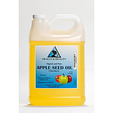 Apple seed oil organic carrier cold pressed premium natural 100% pure 7 lb
