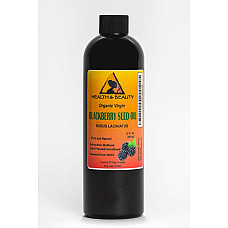 Blackberry seed oil unrefined organic virgin cold pressed raw premium pure 12 oz