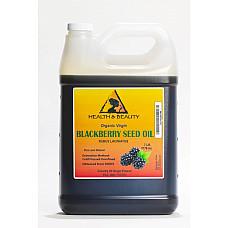 Blackberry seed oil unrefined organic virgin cold pressed raw premium pure 7 lb