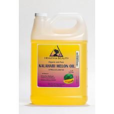 Kalahari melon seed oil refined organic cold pressed premium pure natural 7 lb