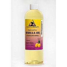 Marula oil refined organic carrier cold pressed premium 100% pure natural 16 oz