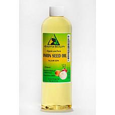 Onion seed oil organic premium cold pressed 100% pure all natural 12 oz
