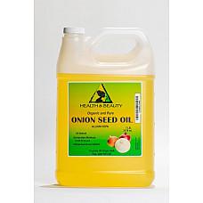 Onion seed oil organic premium cold pressed 100% pure all natural 7 lb