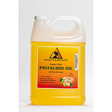 Pistachio oil unrefined organic carrier virgin cold pressed raw fresh pure 7 lb