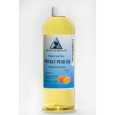 Prickly pear seed oil organic cold pressed premium 100% pure all natural 16 oz