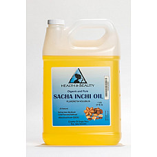 Sacha inchi oil refined organic carrier cold pressed 100% pure all natural 7 lb