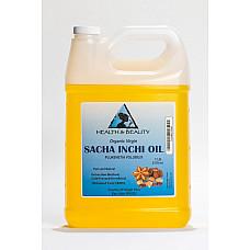 Sacha inchi oil unrefined organic carrier virgin cold pressed natural pure 7 lb