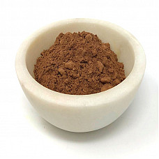 Cacao bean organic powder 20 / 22 fat content raw 100% natural 1 oz