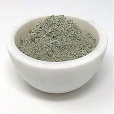 French green clay organic face mask exfoliating detox skin treatment 1 oz