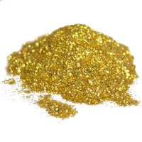Glitter starry gold luxury mica colorant pigment powder 1 oz