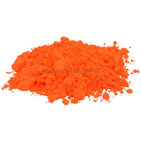 Orange neon colorant pigment powder for crafts soap making 2 oz