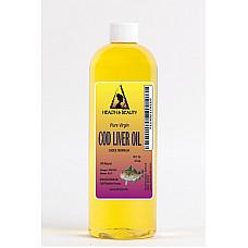 Arctic cod liver oil vitamin a&d3 by h&b oils center all natural liquid 16 oz