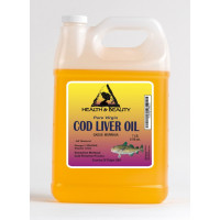 Arctic cod liver oil vitamin a&d3 by h&b oils center all natural liquid 7 lb
