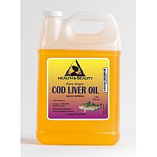 Arctic cod liver oil vitamin a&d3 by h&b oils center all natural liquid 7 lb