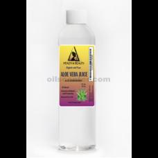 Aloe vera juice organic whole leaf natural moisturizer raw material 8 oz