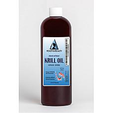 Antarctic krill oil natural by h&b oils center omega-3 epa & dha anti aging 16 oz