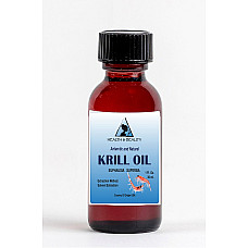 Antarctic krill oil natural by h&b oils center anti aging glass bottle 1 oz