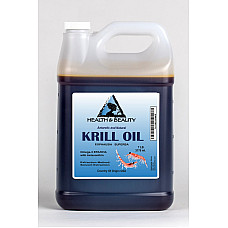 Antarctic krill oil natural by h&b oils center omega-3 epa & dha anti aging 7 lb