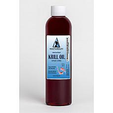 Antarctic krill oil natural by h&b oils center omega-3 epa & dha anti aging 8 oz