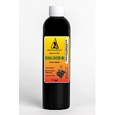 Black castor oil organic usp grade hexane free cold pressed premium pure 8 oz