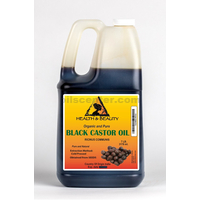 Black castor oil organic usp grade hexane free cold pressed premium pure 7 lb
