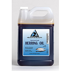 Herring oil crude natural fishing scent attractant by h&b oils center 7 lb