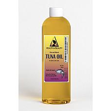Tuna oil rbd with epa & dha all natural by h&b oils center 100% pure liquid 12 oz