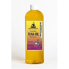 Tuna oil rbd with epa & dha all natural by h&b oils center 100% pure liquid 16 oz