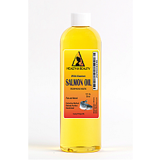 Wild alaskan salmon oil by h&b oils center all natural for dogs & cats 12 oz