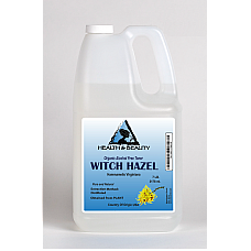 Witch hazel distillate face toner all natural 7 lb