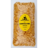 Candelilla wax flakes organic vegan beards pastilles prime 100% pure 16 oz, 1 lb