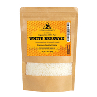White beeswax bees wax organic pastilles beards premium 100% pure 16 oz, 1 lb