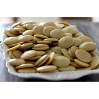 Cocoa / cacao butter wafers organic unrefined food grade raw fresh pure natural 4 oz