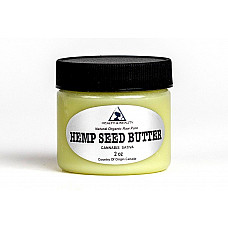 Hemp seed butter organic expeller pressed premium quality fresh pure 2 oz