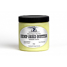 Hemp seed butter organic expeller pressed premium quality fresh pure 8 oz