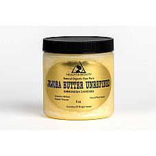 Jojoba butter unrefined organic virgin expeller pressed raw pure 8 oz