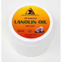 Lanolin usp grade anhydrous ultra refined 100% pure skin lip moisturizing 2 oz