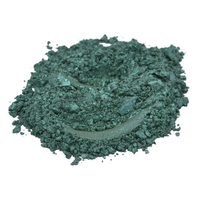 After twilight dark stale green mica colorant pigment powder cosmetic grade 2 oz