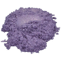 Amethyst / purple / violet mica colorant pigment powder cosmetic grade 2 oz