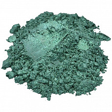 Aquarius / green mica colorant pigment powder cosmetic grade eyeshadow 2 oz