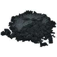 BLACK LUXURY MICA COLORANT PIGMENT POWDER COSMETIC GRADE EYESHADOW 2 OZ