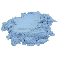 Blue ice light sky blue luxury mica colorant pigment powder cosmetic grade 2 oz