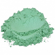 Breath of spring green luxury mica colorant pigment powder cosmetic grade 2 oz