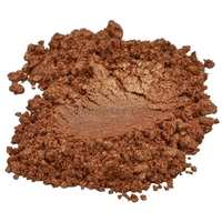 Bronze / golden / brown mica colorant pigment powder cosmetic grade 2 oz