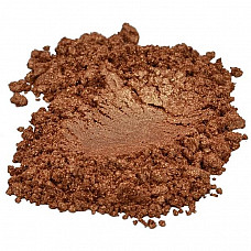 Bronze / golden / brown mica colorant pigment powder cosmetic grade 1 oz