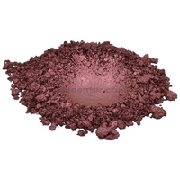 Deep russet red brown luxury mica colorant pigment powder cosmetic grade 4 oz