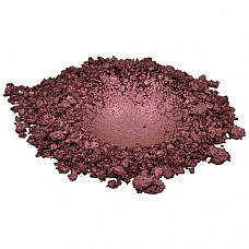 Deep russet red brown luxury mica colorant pigment powder cosmetic grade 1 oz