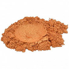 Lovely leo / orange / yellow mica colorant pigment powder cosmetic grade 1 oz